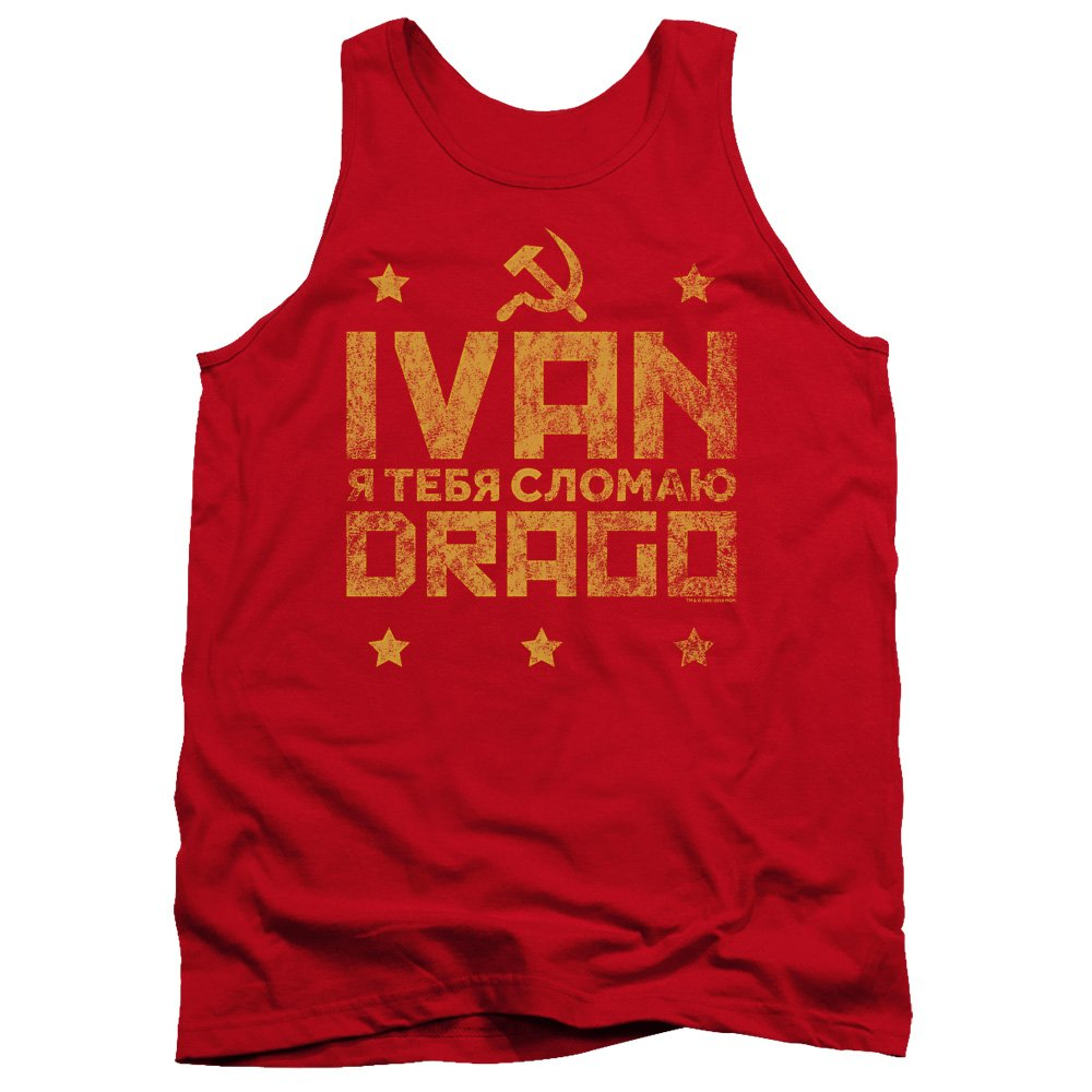 Trevco Tank Top: Rocky IV/Ivan Drago Marquee