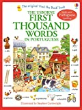img - for First Thousand Words in Portuguese (Usborne First Thousand Words) book / textbook / text book