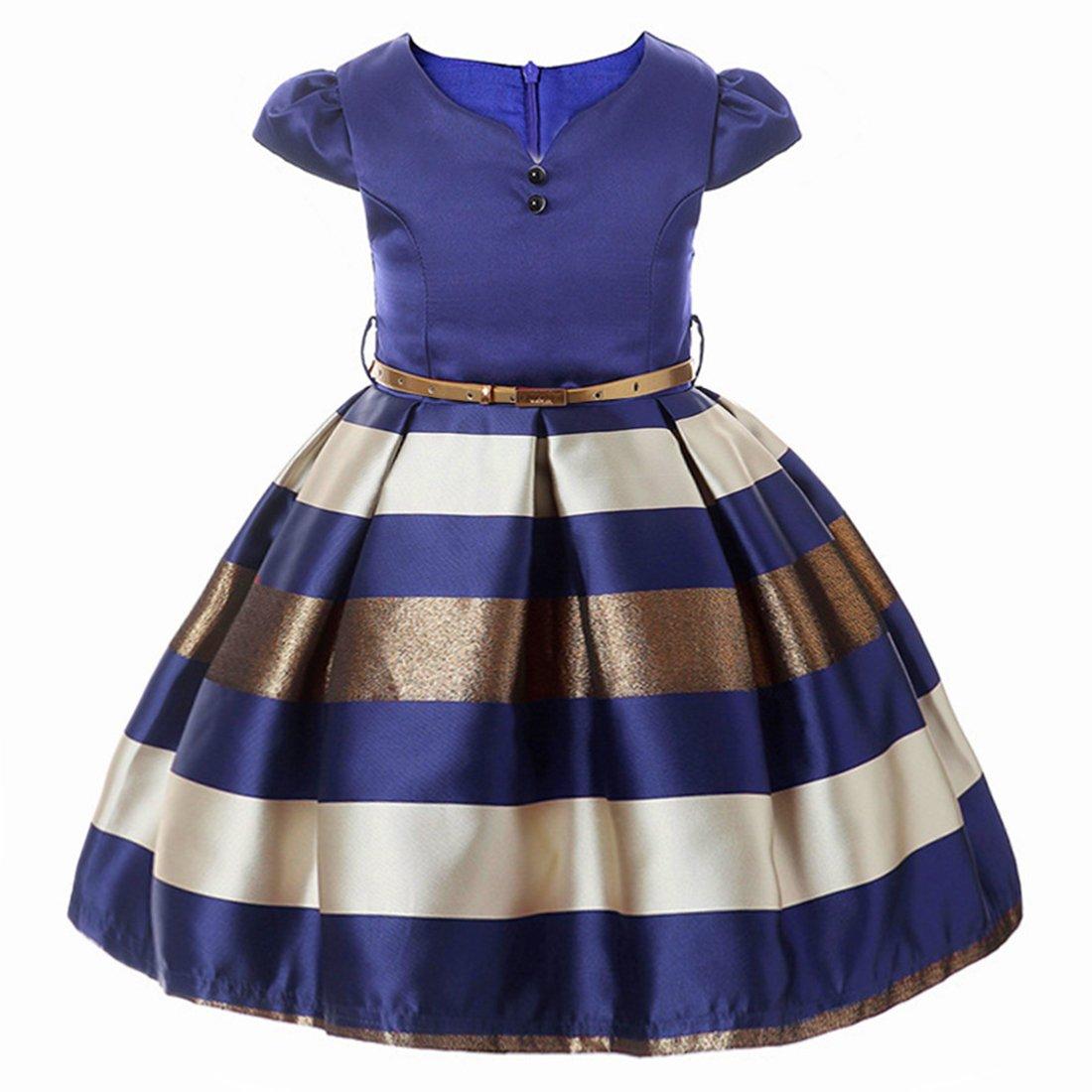 ADHS de - B01N77YLHJ Vestido de fiesta de para niñas, vestidos de ...