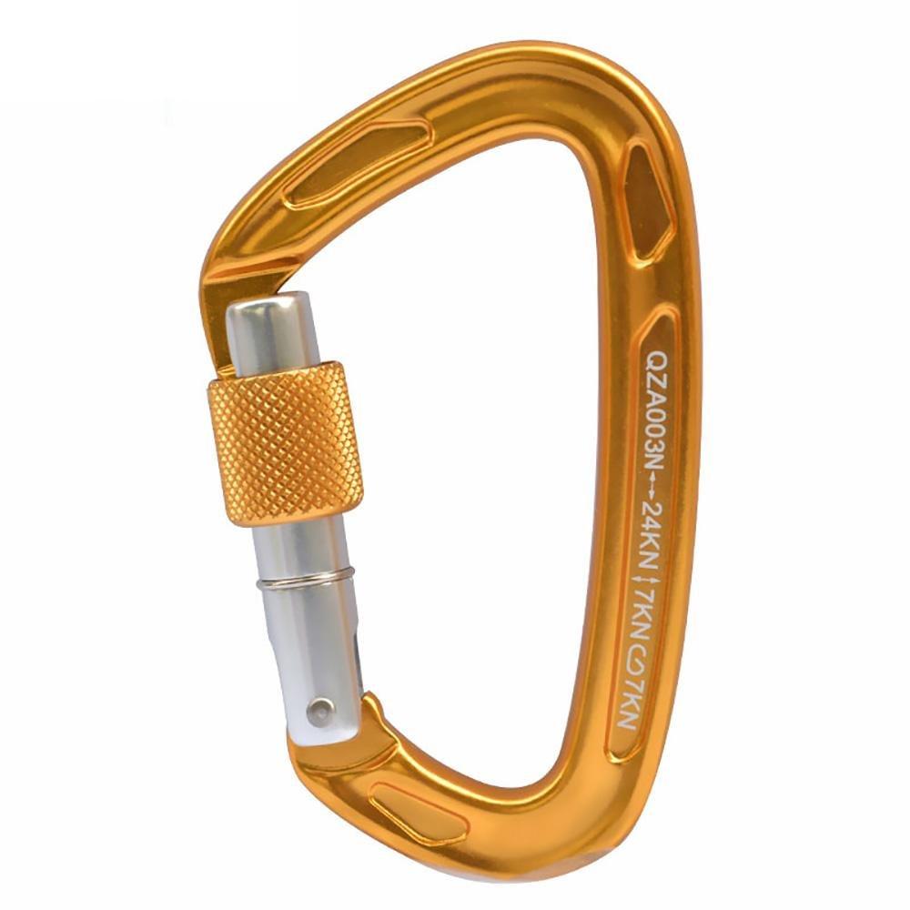 Amazon.com : ASOL Climbing Buckle Professionals In Lega Di Magnesio Alluminio Di Aeronautica Lock & Moschettone & Moschettone Arrampicata Hook ...
