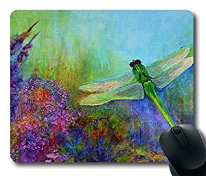 Beautiful Dragonflies POP Colorful Masterpiece Limited Design Oblong Mouse Pad by Cases & Mousepads by icecream design
