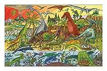 Bigjigs Toys BJ012b Dinosaur Floor Puzzle (48 Piece)