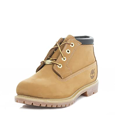 Timberland Womens Wheat Ek Nellie Leather Boots