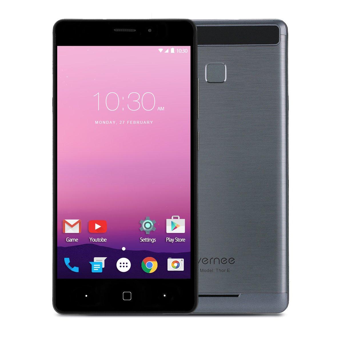 Teléfono Móvil Libre,Vernee Thor E 5.0 Pulgadas 4G Smartphone ...