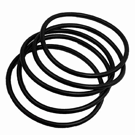 Miki&Co 100mm Outside Dia 5mm Thick Rubber Sealing Oil Filter O ...