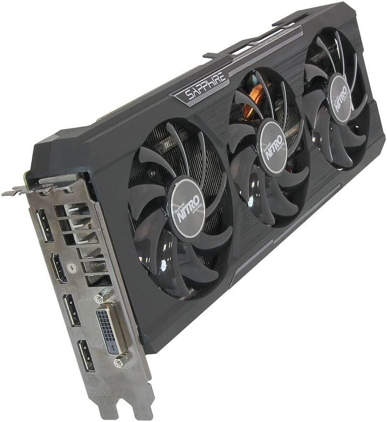 Sapphire Radeon Nitro R9 390 8GB GDDR5 DVI-D//HDMI//Triple DP Tri-X OC Version PCI-E Graphics Card 11244-00-20G UEFI
