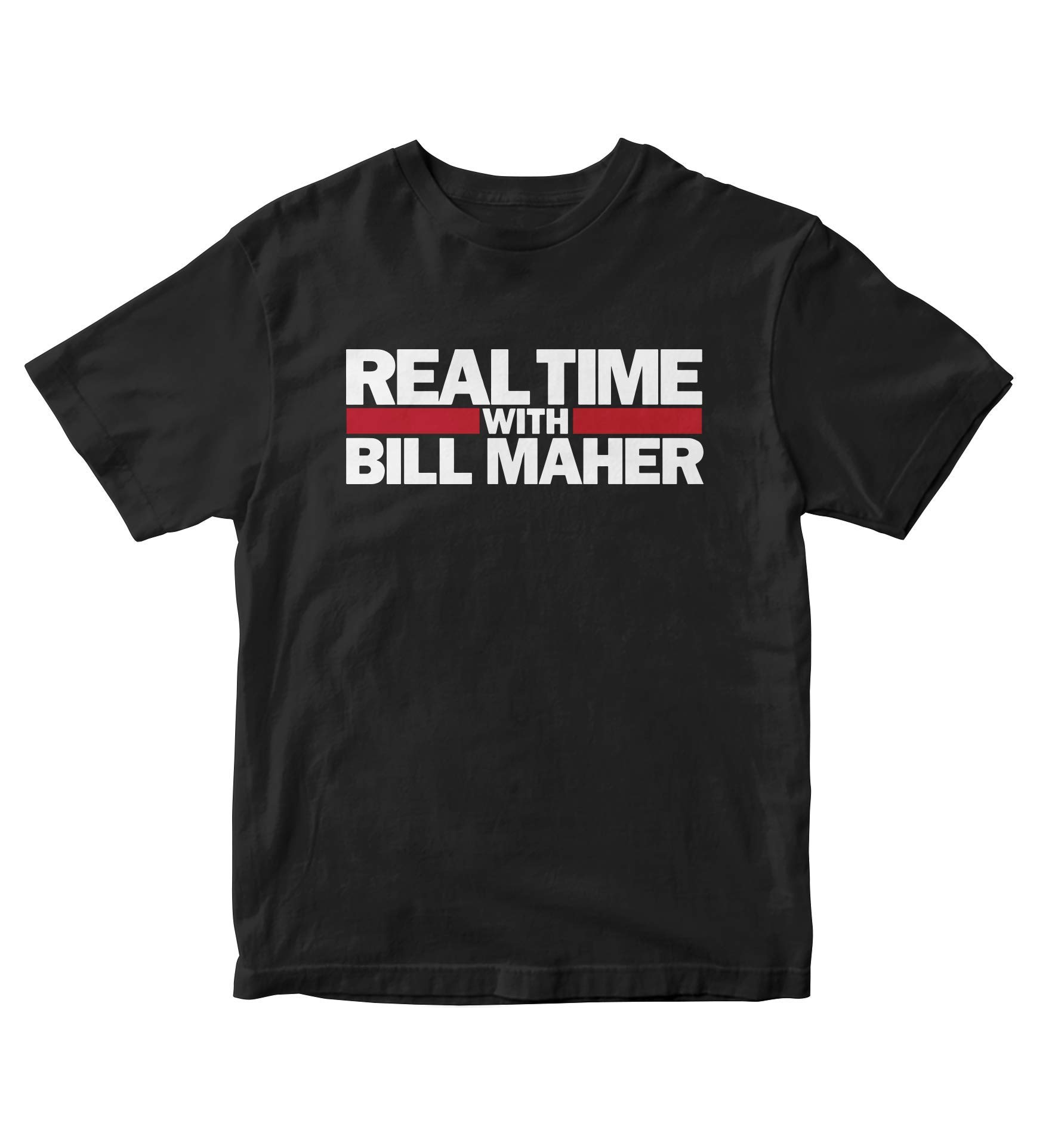 Real Time With Bill Maher Black Shirt S Tv Show M166