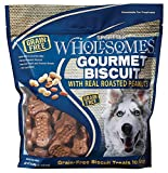 Sportmix Wholesomes Gourmet Biscuit With Real Roasted Peanuts Grain Free Dog Treats, 3 Lb.