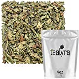 Tealyra - Pure Peppermint - Herbal Loose Leaf Tea - Best Egyptian Mint Tea - Supports Digestive Health - Naturally High in Menthol - Soothing Anti-Inflammatory - Caffeine Free - 112g (4-ounce)