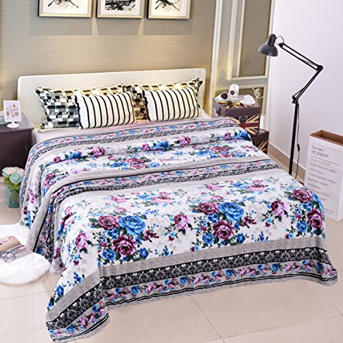 "Hot Jml Plush Blankets, Blankets Full Size 73"" x 81"" - Soft Warm, Flannel, Printed, No Shedding, Wrinkle & Fade Resistant All Season Use Fleece Bed Blanket for cheap 7qVSwyvg"