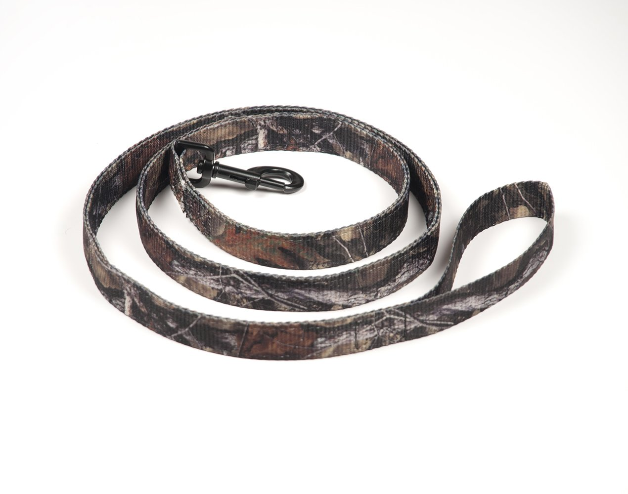 Pet Champion Hunting 5ft No Pull Easy Lead Dog Leash, Mossy Oak Camo, Large 1in x 5ft