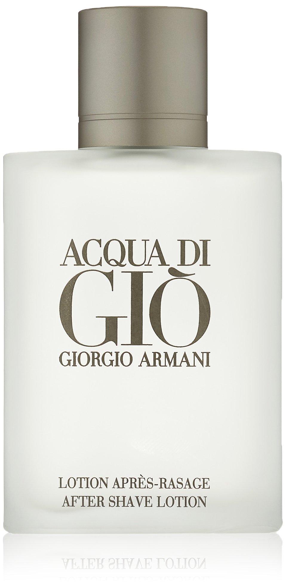 Acqua Di Gio Pour Homme By Giorgio Armani After Shave Lotion, 3.3-Ounce