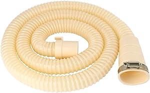 uxcell PVC Dorm Washing Machine Drain Hose Extension Kit, Universal Fit All Drain Hose 4.9 Ft
