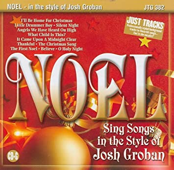 Christmas Karaoke - Noel: Songs in the Style of Josh Groban ...