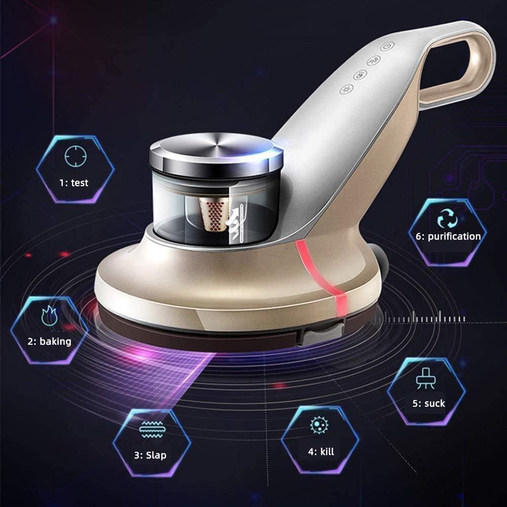 ZHOUMEI Inicio de Mano Aspirador Sensor Infra /ácaros de la Cama for aspiradoras 55onstant Temperatura de Secado Elimina el 99,9 por ciento de Las bacterias y los /ácaros del Polvo adecuados fo