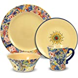 Amazon.com | Pfaltzgraff Napoli Dinnerware Set (48-Piece ...