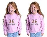 Copy Cats Toddler Long Sleeve Sweatshirt Twin Set