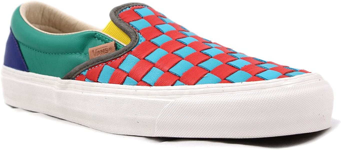 cde95aeab1 Vault OG Classic Slip On LX 50th Checkered Past Collection