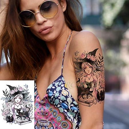 ljmljm 4pcs Impermeable Etiqueta engomada del Tatuaje Lion King ...