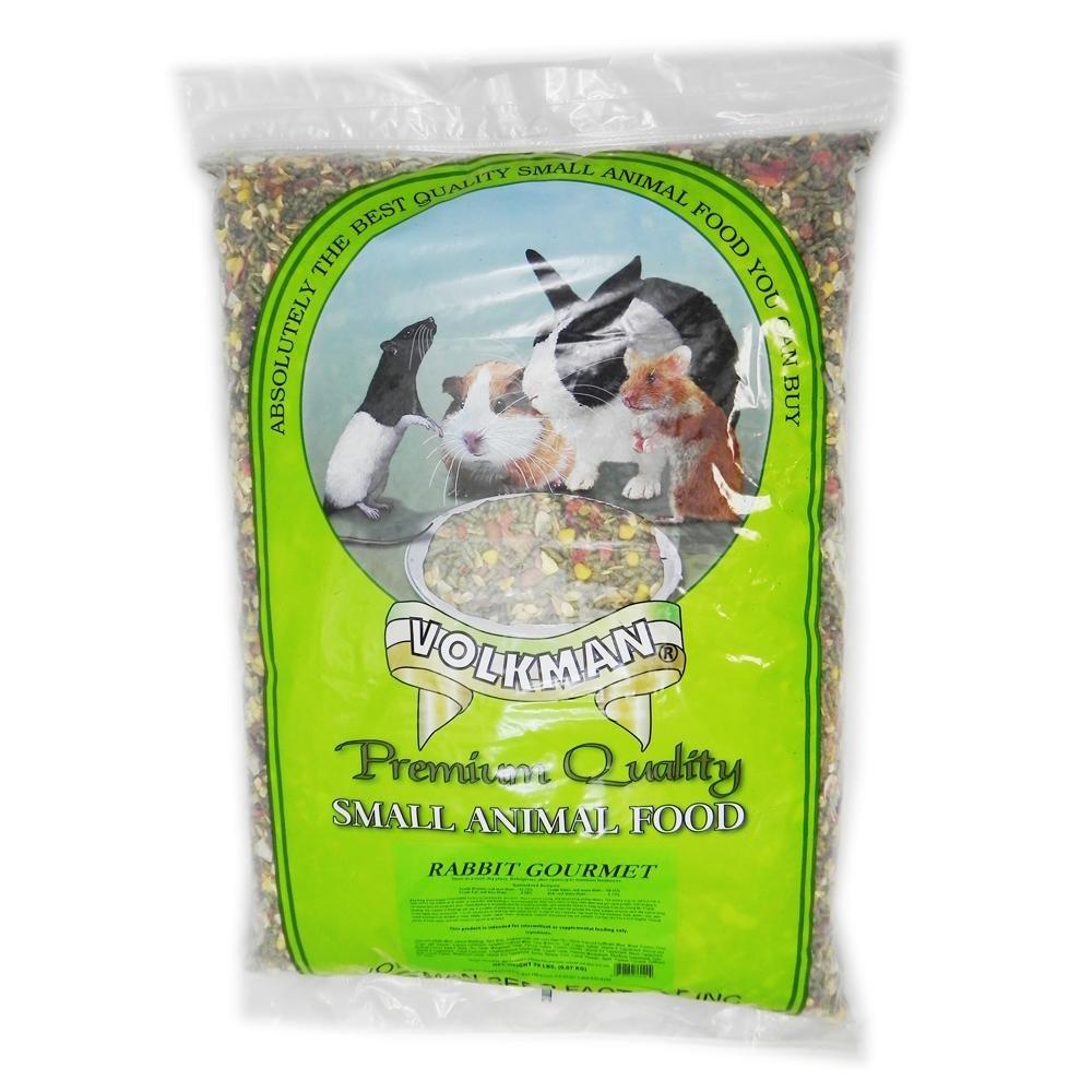 Volkman Rabbit Gourmet Premium Rabbit Food 20Lb.