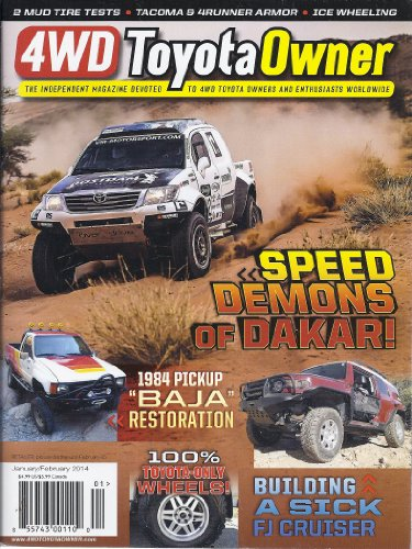 4WD Toyota Owner (January/February 2014)