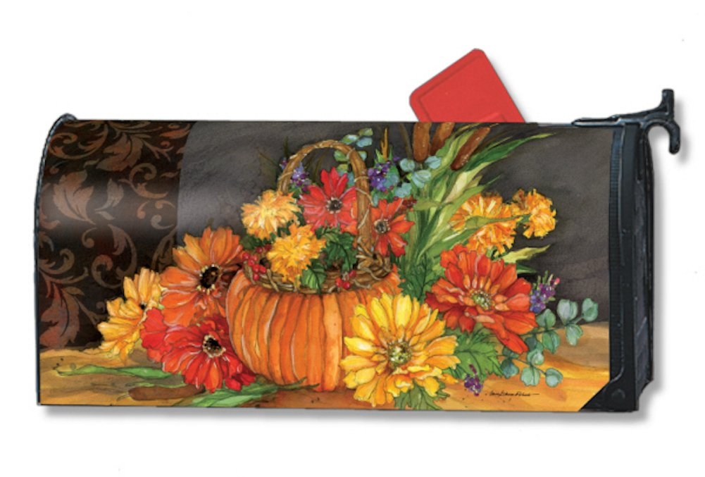 MailWraps Autumn Tapesty Mailbox Cover 01005