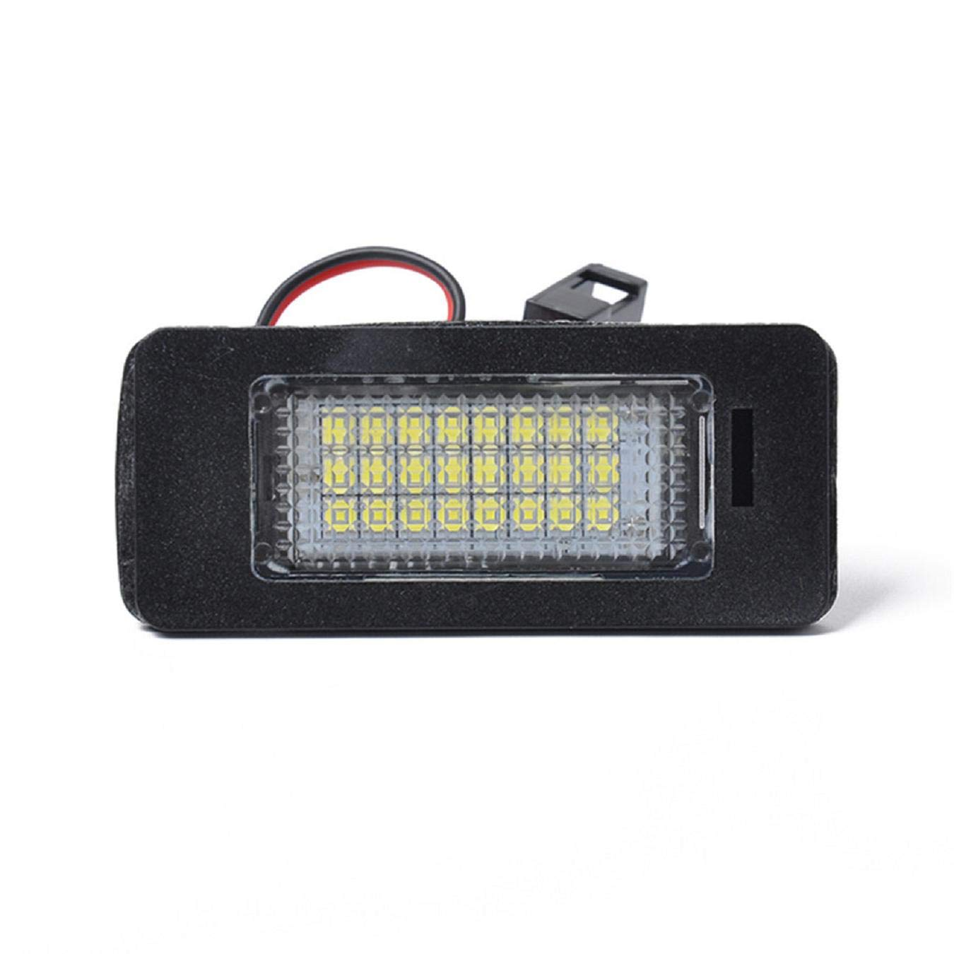 Car Interior Courtesy Dome//Roof Luggage Cargo Hood Light GreatFun Waterproof And Rainproof Car License Plate Light Convenient Courtesy Light External License Plate Sign Light