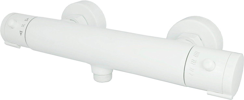 Gr/ünblatt 511206 Mitigeur thermostatique Blanc