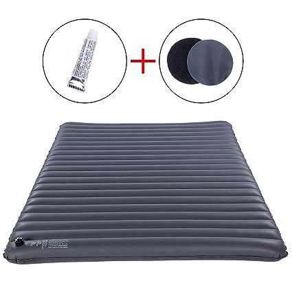 Amazon.com: FMS - Colchón hinchable ultraligero de PVC para ...