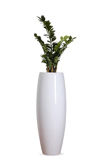 Exklusive Pflanzkübel pflanzkübel pflanzgefäß blumenkübel exklusiv fiberglas weiß magnum