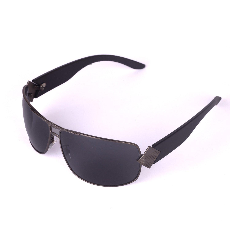 Walleva Herren Sonnenbrille Schwarz schwarz 2RXU1jP