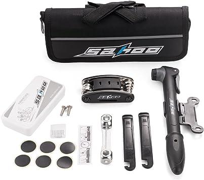 Agapo herramientas multifunción para bicicleta, Kit de Herramientas de Bici, Multiherramienta, reparación Kit de herramientas: Amazon.es: Deportes y aire libre