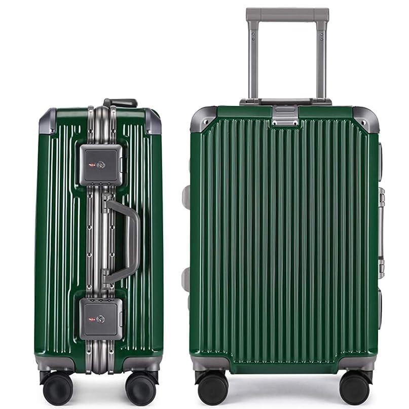 統治するメタンノートTABITORA(タビトラ) スーツケース キャリーケース アルミフレーム 大型 機内持込 レトロ 四角 静音 TSAロック 傷が目たちにくい 【安心一年】(2色5サイズ対応)