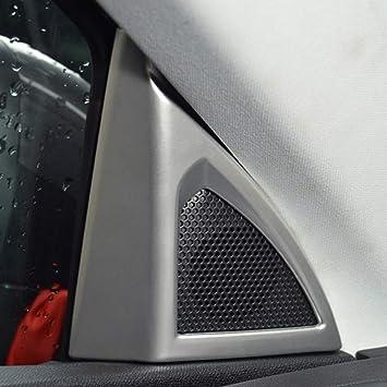 Altavoz de la puerta frontal cubierta Gap decoración adornos para Peugeot 3008 GT 2016 – 2017