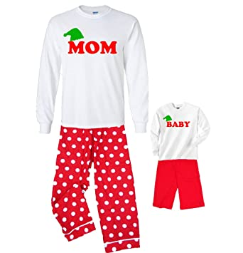 Amazon.com: Matching Elf Christmas Outfits for Mommy and Baby ...