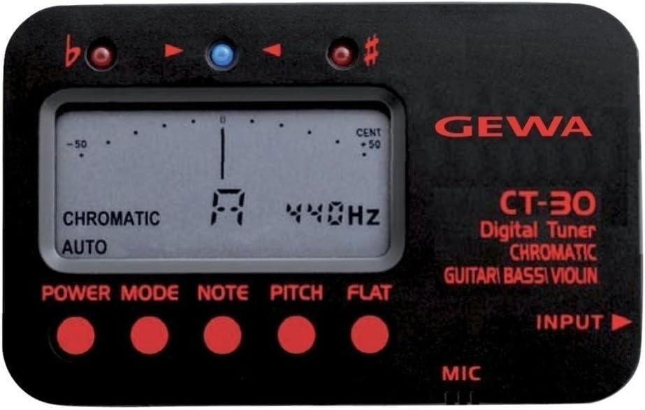 GEWA 902102 - Afinador CT-30, cromático