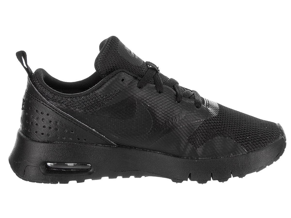 Nike Boys Air Max Tavas Running Shoe Black//Black 2Y