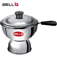 iBELL Chiratta Puttu Maker Stainless Steel Use with Pressure Cooker