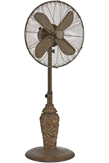 Amazon Com Decobreeze Pedestal Fan 3 Speed Oscillating Fan 16 In