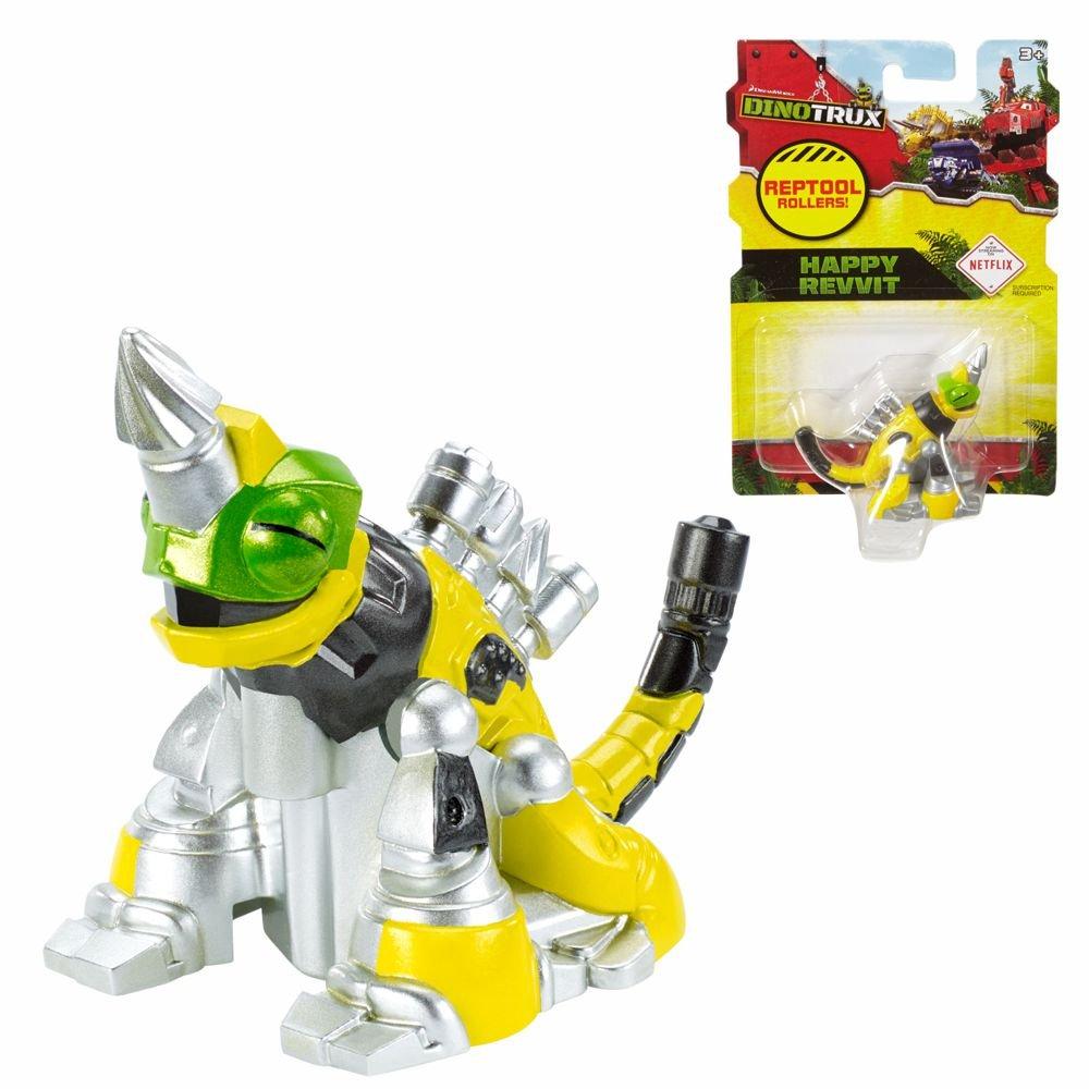 Mattel Rollende Reparatilien | Auswahl verschiedener Modelle | Dinotrux DWP73, Figuren:Abschleppconstrictor
