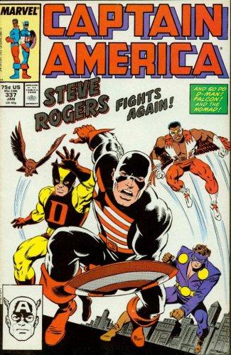 captain america 337 - 1