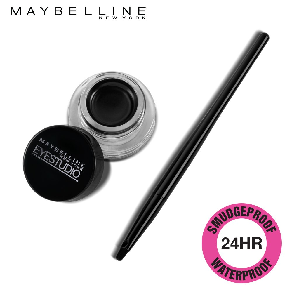 Maybelline New York Lasting Drama Eye Liner Drama Gel Liner, Black