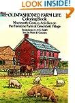 Old-Fashioned Farm Life Coloring Book...