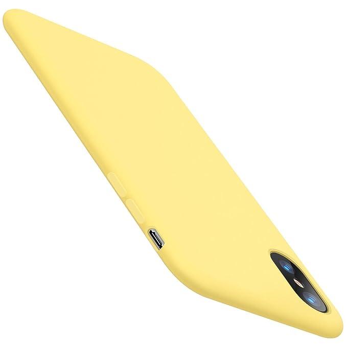 JEPER Funda iPhone X Carcasa Silicona Colores del Caramelo Protector TPU Ultra-Delgado Anti-Arañazos Caso Caja para Teléfono Apple iPhone 10/X 5.8 Pulgada ...