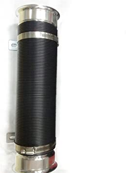 """Extensible 3/"""" Car Cylinder Flexible Turbo Cold Air Intake Inlet Pipe Hose Tube"""