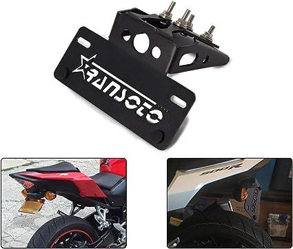 Amazon.com: Soporte para matrícula de motocicleta para Honda ...