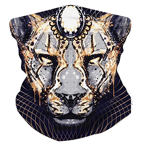 Electrik Unicorn Infinity Face Mask Bandana for Festivals, Raves, Dust - Seamless One Size -