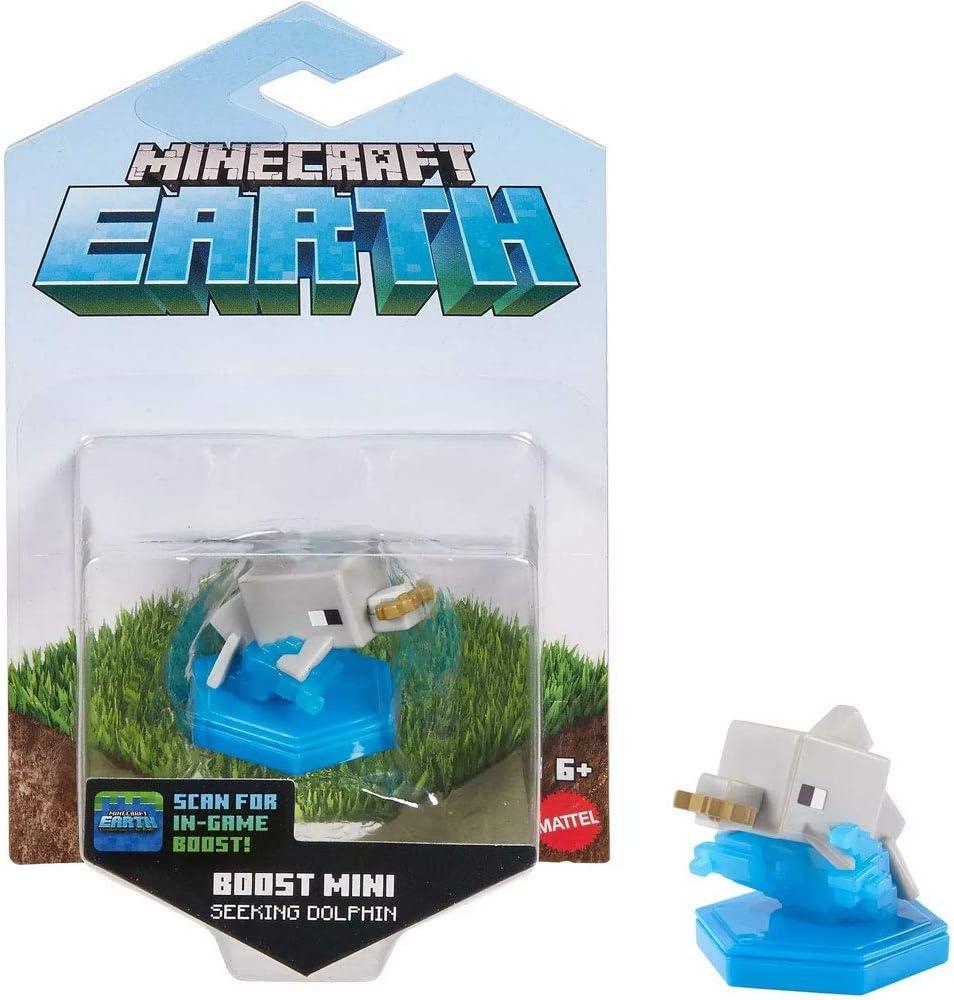 Minecraft Earth Mini Figure: Seeking Dolphin Action Figure