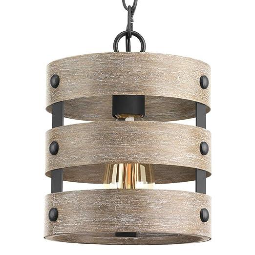 Amazon.com: Lámpara de techo moderna Jeffrien de metal ...