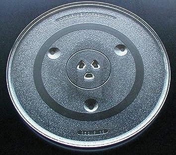 GE microondas de cristal Tocadiscos placa/bandeja 12 3/8 ...